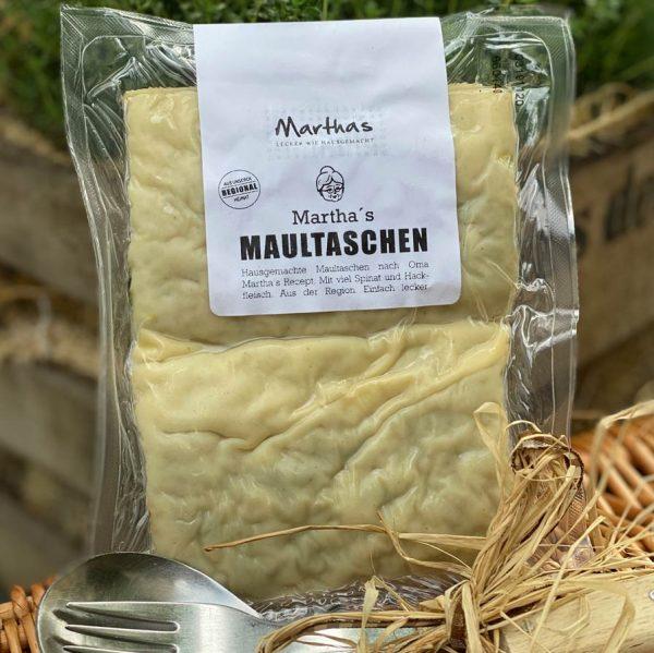 Selbstgemachte Maultaschenaus Stuttgart, Slow Food to go, Restaurant